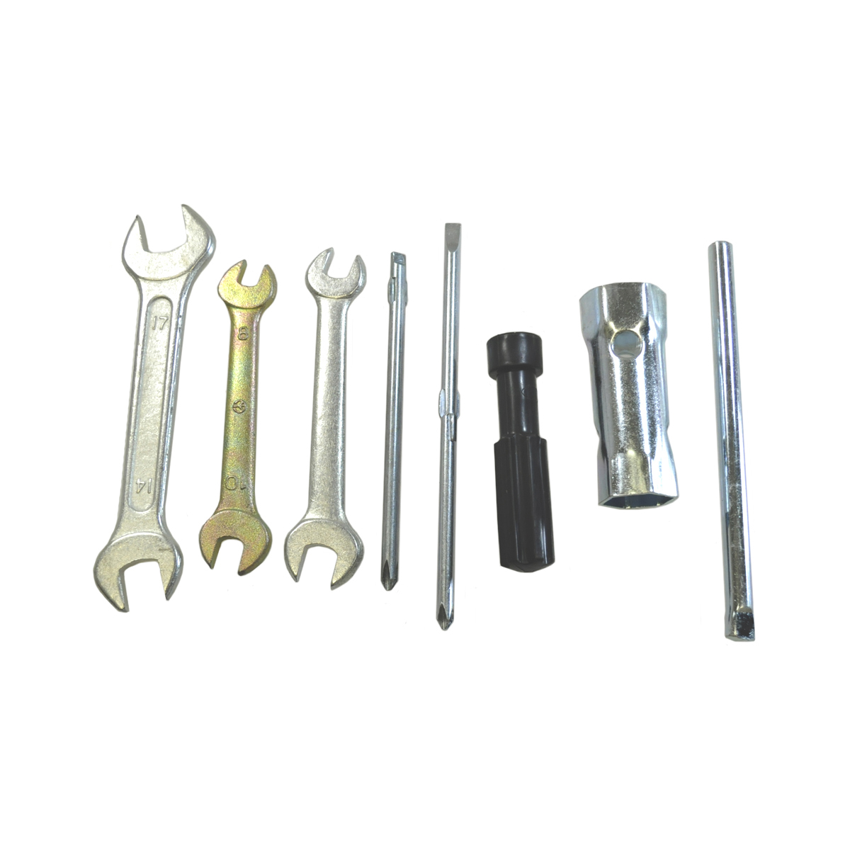 Economy Tool Kit Motorcycle Under Seat Wrenches Screw Driver Spark Plug Wrench