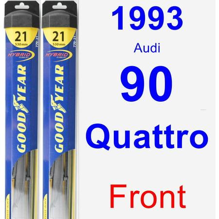 1993 Audi 90 Quattro Wiper Blade Set/Kit (Front) (2 Blades) - Hybrid 1993 Audi 90 Quattro