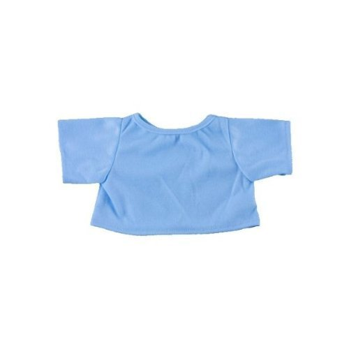"""Light Blue T-Shirt Outfit Teddy Bear Clothes Fit 14"""" 18"""" Build-a-bear, Vermont... by Teddy Mountain"""