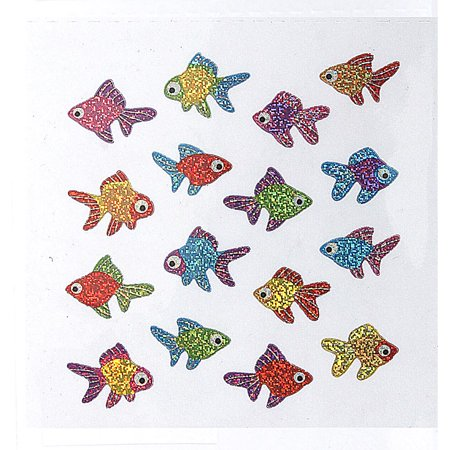 Gold Fish Sandylion Acid-Free Stickers - Fish Stickers