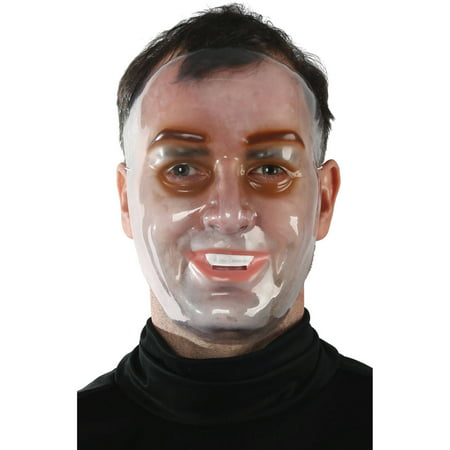 Clear Young Mask Adult Halloween Accessory](Halloween Joe Clear The Way)