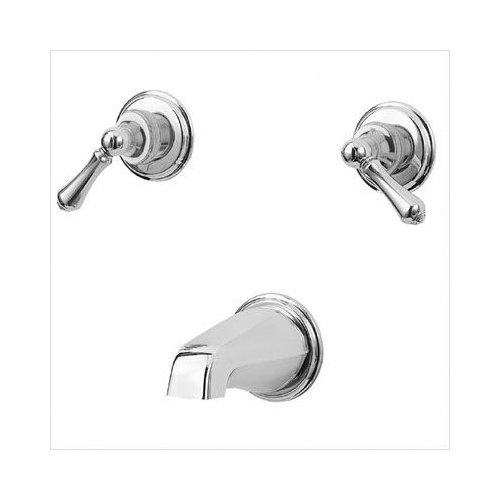 Bundle-92 Price Pfister 930 Series Double Handle Wall Mount Tub Only Faucet Lever Handle (2 Pieces)