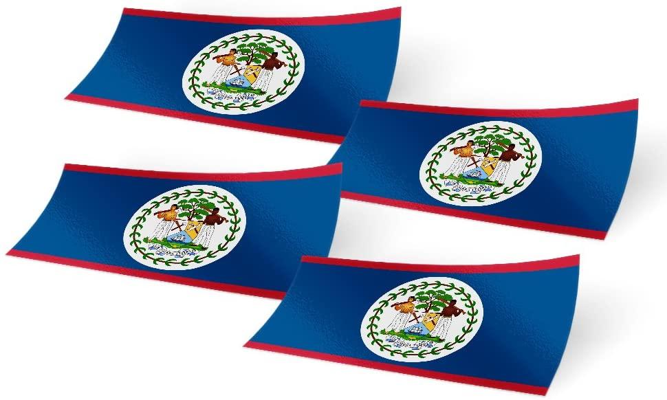 Sticker of Belize Decal for Bumper Travel Car Laptop Tablet Suitcase Hollidays
