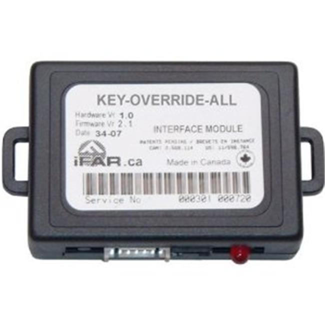Fortin KEYOVERRIDEALL Encrypted Key Data Bypass Kit