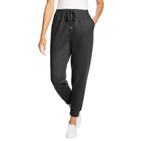 Woman Within Women's Plus Size Petite Better Fleece Jogger Sweatpant Pant
