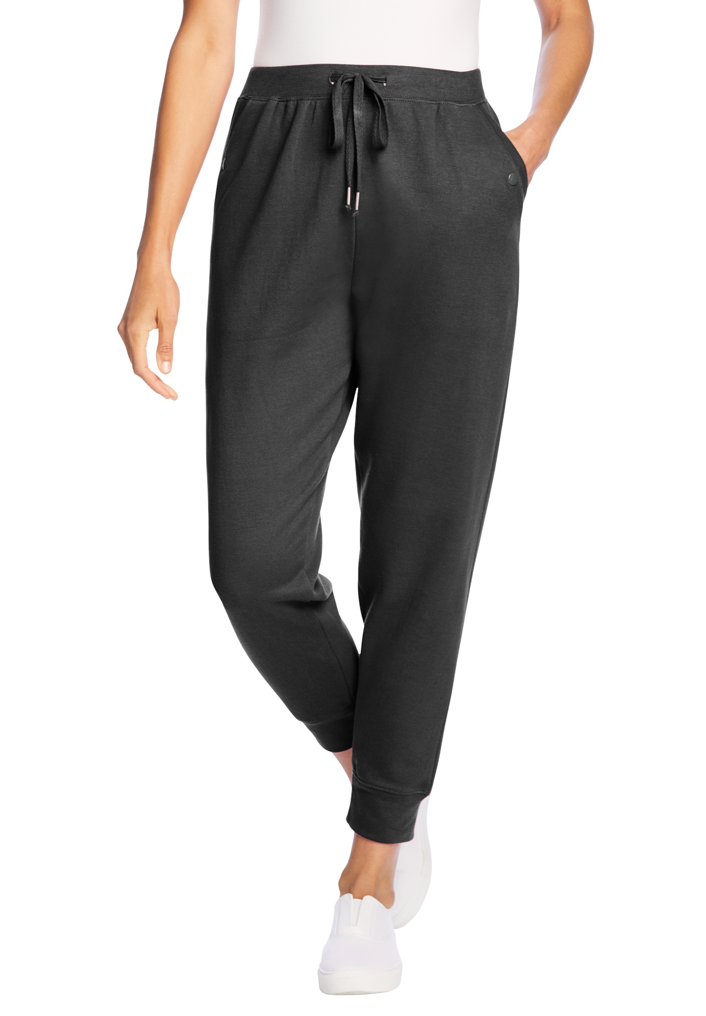 Woman Within Womens Plus Size Tall Better Fleece Sweatpant