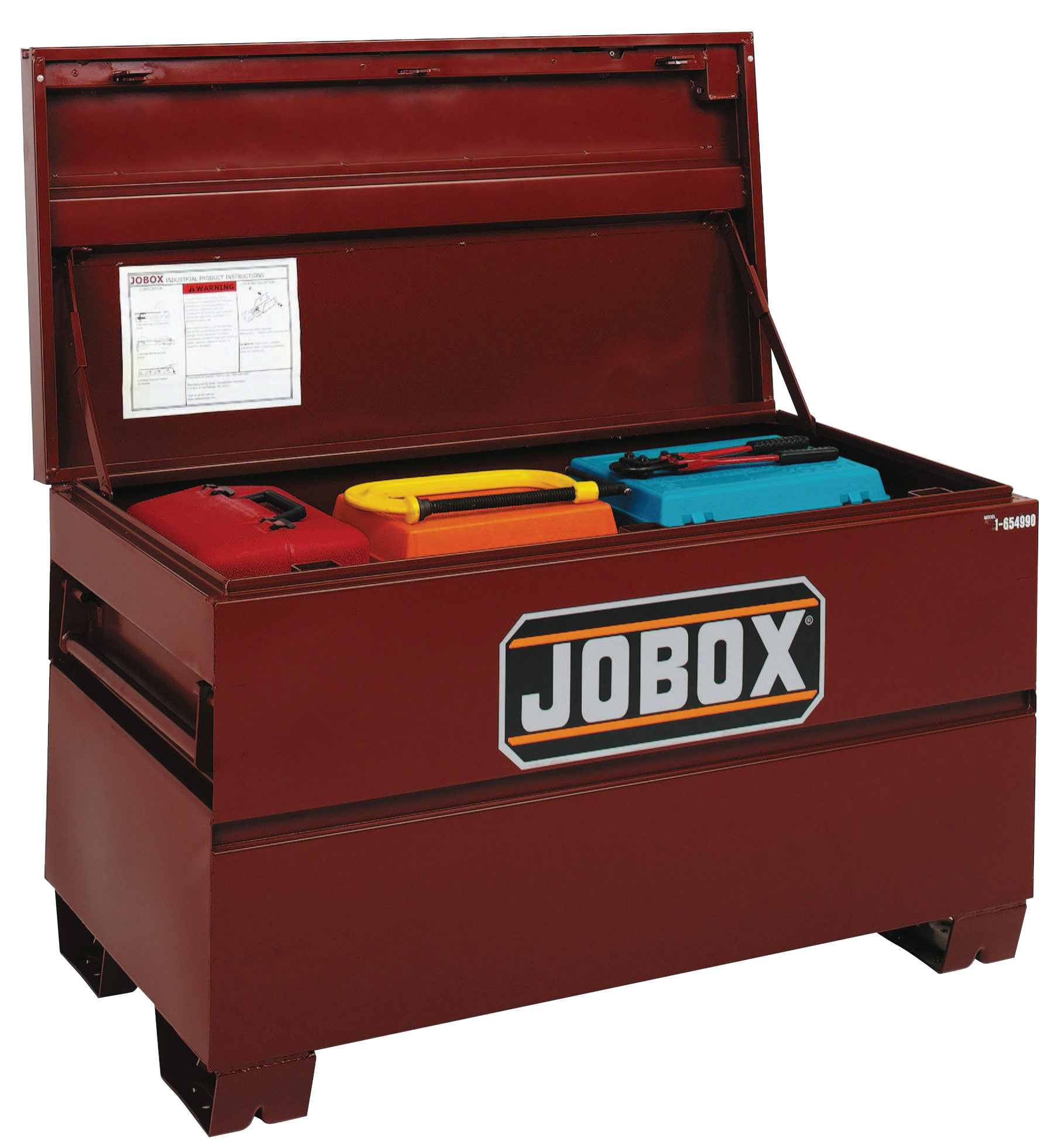 Jobox On-Site Chests, 48 in X 30 in X 33 3/8 in