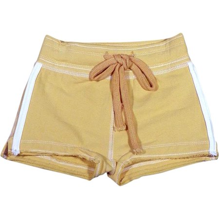 Purple Orchid - Big Girls Gym Short, Yellow 26786-7 Yellow / (Yellow Gym)