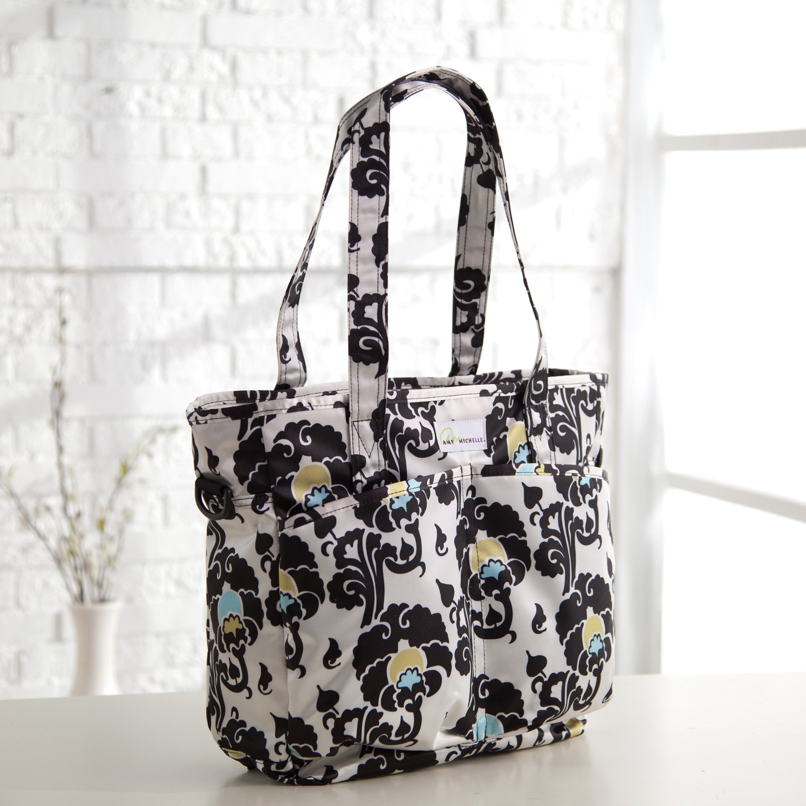 Amy Michelle New Orleans Go Bebe Diaper Bag - Moroccan