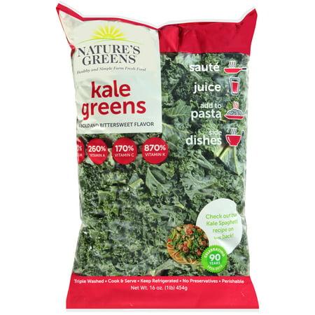Kale Greens 1lb Bag Walmart Com