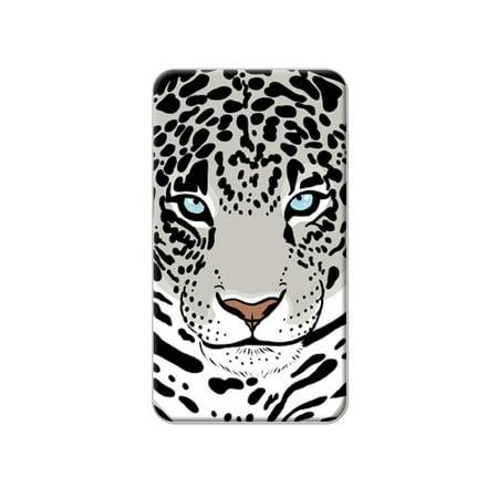Snow Leopard - Big Cat Lapel Hat Pin Tie Tack