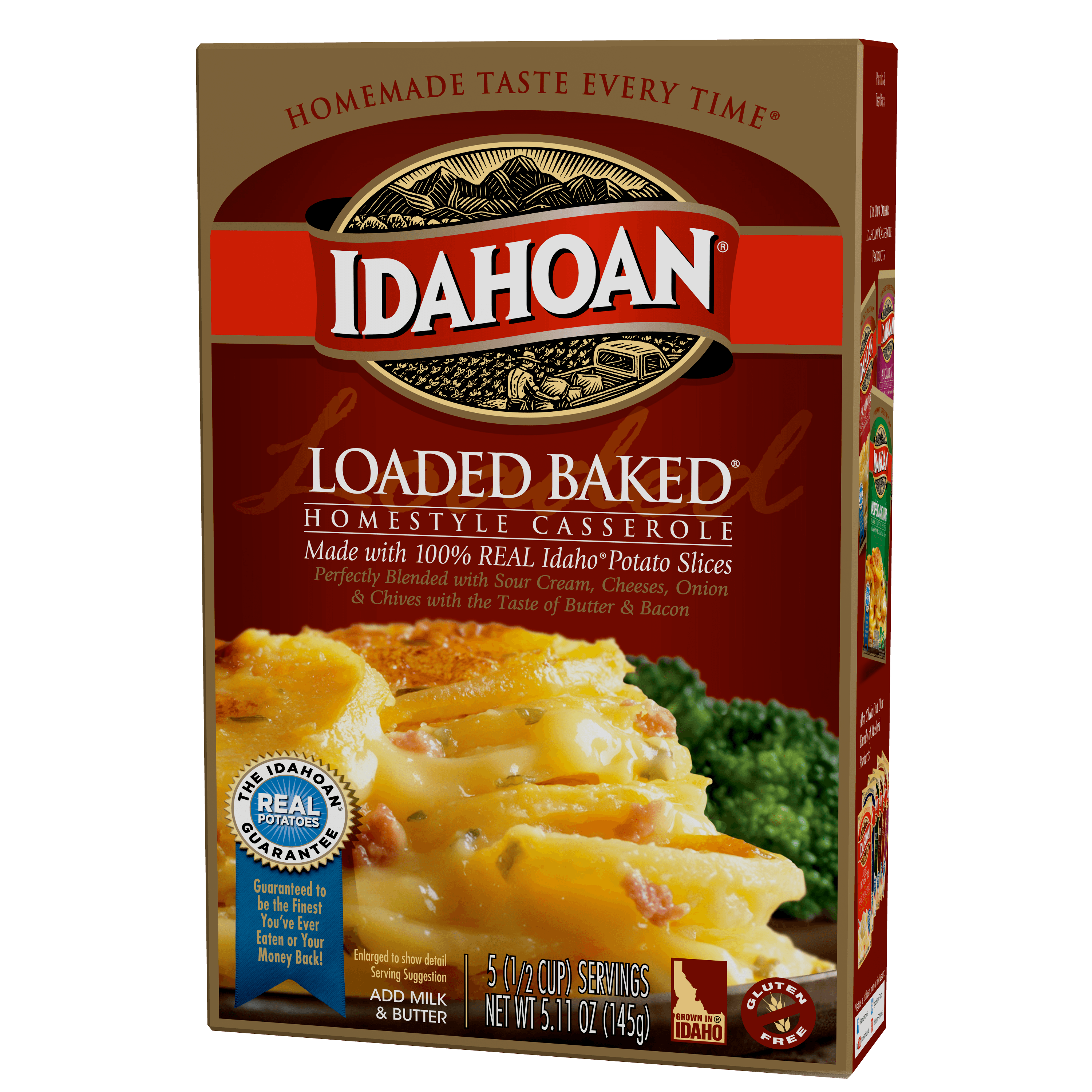 Idahoan Loaded Baked Homestyle Casserole, 5.11 oz