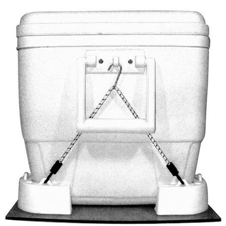 T-H Marine CMK-1-DP Cooler Mounting Kit, Stainless Steel - image 1 de 1