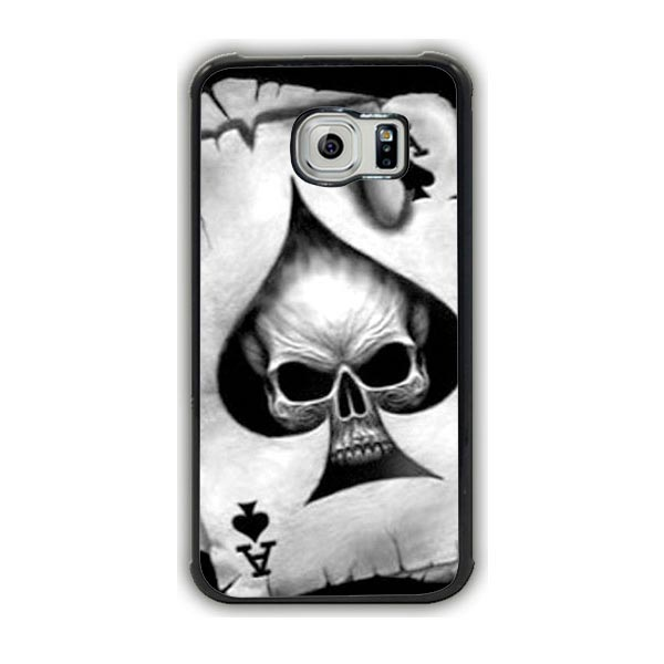 Ace Of Spades Skull Galaxy S7 Edge Case