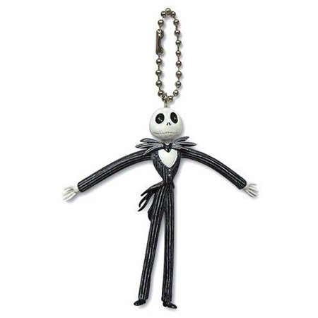 Disney Bendable Keychain Jack Skellington - Disney Keychains