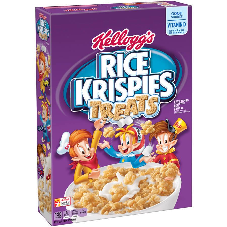 Kellogg's Rice Krispies Treats Cereal, 11.6 oz Box