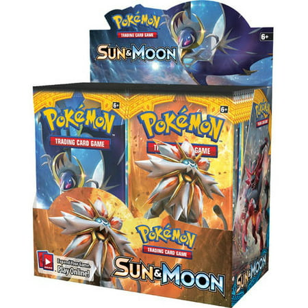 Giants Booster Pack - POKEMON SUN & MOON 1 BOOSTER PACK BOX-36CT