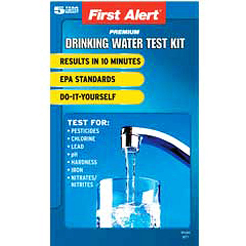 First Alert WT1 Drinking Water Quality Test Kit