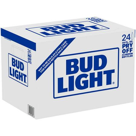 Bud Light, 24 pack, 16 fl oz aluminum bottles - Walmart com