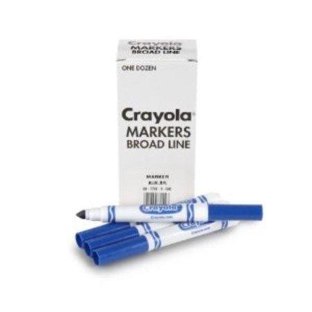 Crayola Original Bulk Markers, Blue, 12 Count](Sky Blue Crayola)