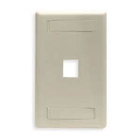 Telco Motionettes Halloween (Dalco Keystone Wallplate ID Telco Ivory 1 Port Single)