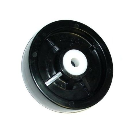"""Boat Trailer / Wet Environment Solid Polyolefin 5"""" x 1-1/2"""" Wheel with 1/2"""" ID"""