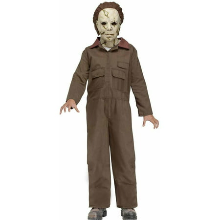 Michael Myers Child Halloween Costume - Michael Jackson Makeup Halloween