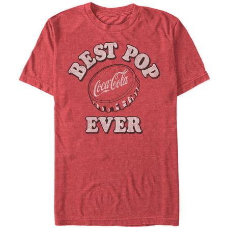 Coca Cola Men's Father's Day Best Pop Ever Cap T-Shirt](Coca Cola Costume)