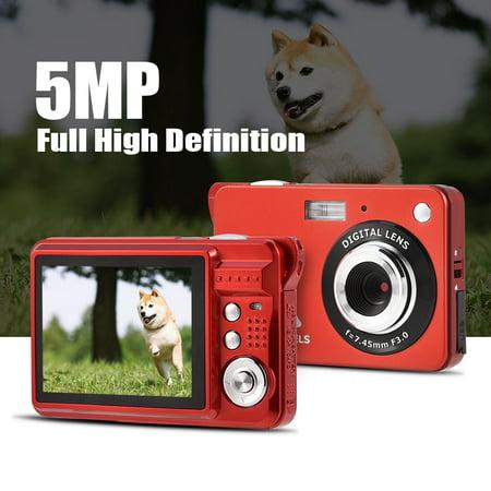 Anauto Mini Camera, Mini Digital Camera,Ultra Slim Mini 5MP DV Camcorder 720P HD Digital Camera Video Recorder US