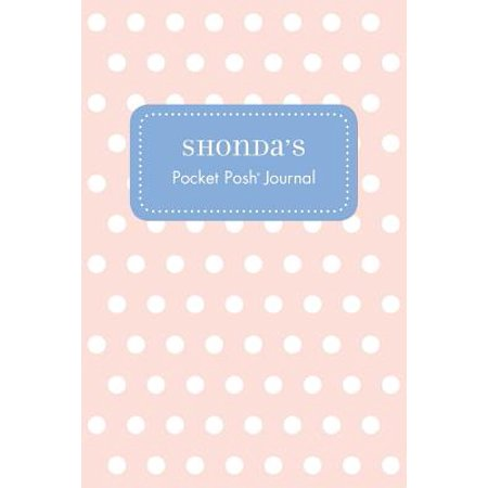 Shonda's Pocket Posh Journal, Polka Dot