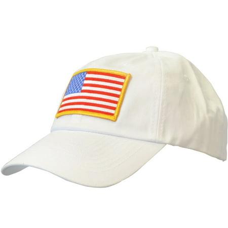 KC Caps Unisex Adjustable Twill USA American Flag Baseball Cap Hat -  Walmart.com 98ccc47d1ca