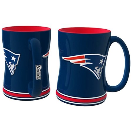 New England Patriots Coffee Mug - 15oz Sculpted 4675709893 - image 1 de 1