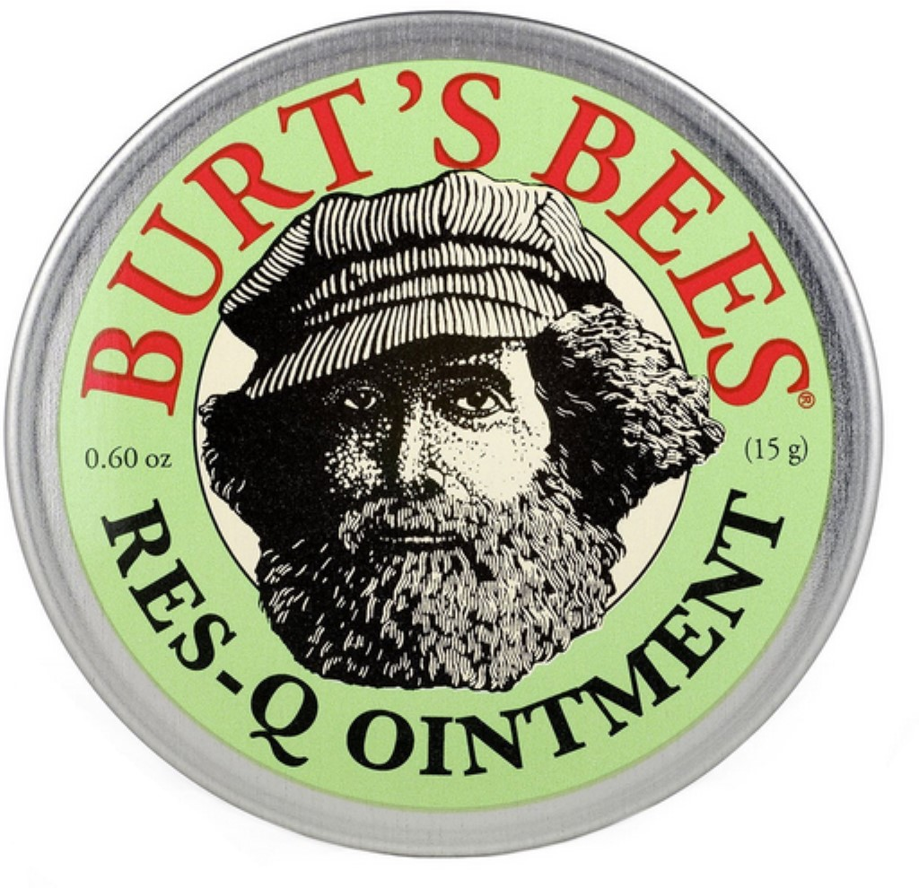 Burt's Bees 100% Natural Res-Q Ointment 0.6 oz (Pack of 6)