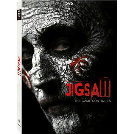 Jigsaw (DVD) - Saw Jigsaw Halloween Makeup