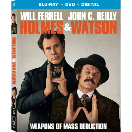 Holmes & Watson (Blu-ray + DVD + Digital Copy)