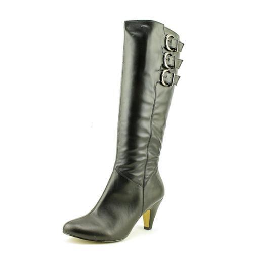 Bella Vita Transit II Wide Calf Women WW Synthetic Black Knee High Boot by Bella Vita