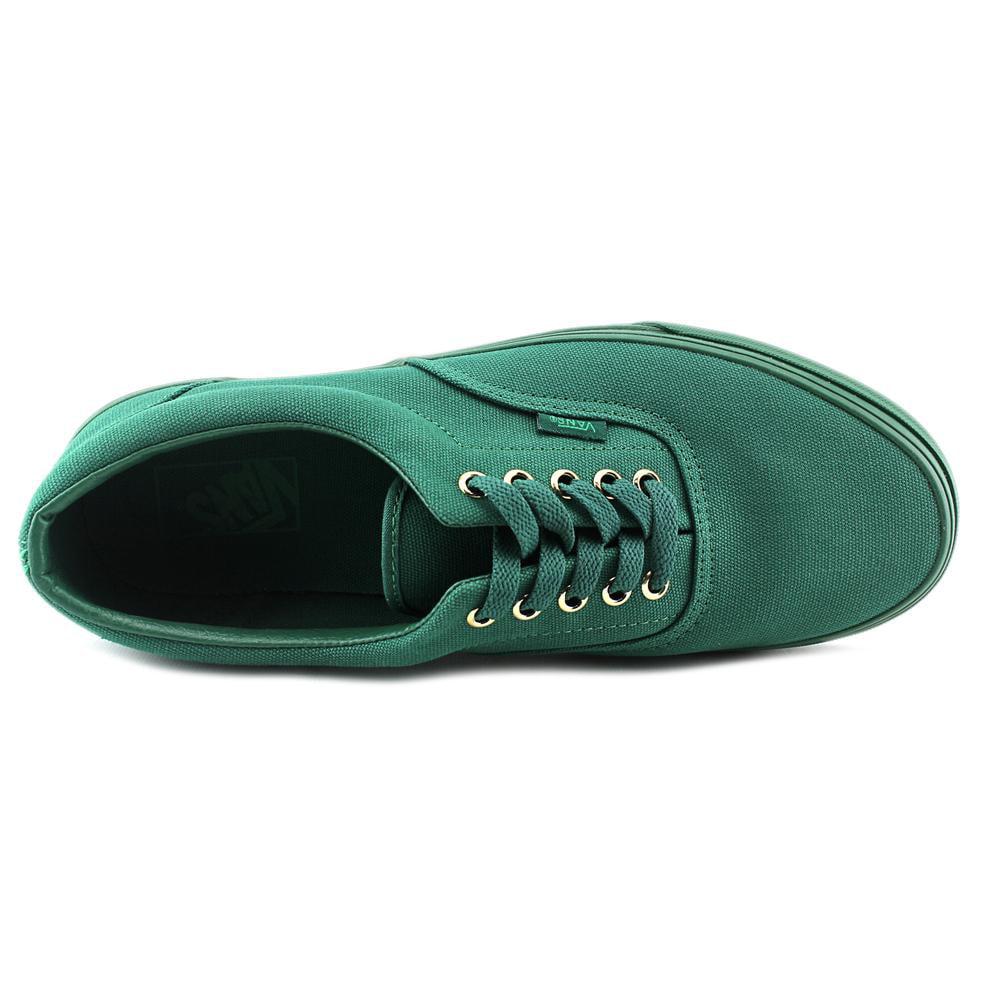 Vans Era Gold Mono Nautical Blue Ankle-High Canvas Fashion Sneaker - 10.5M / 9M