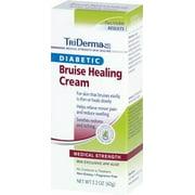 Triderma Diabetic Bruise Defense Healing Cream ''1 Count, 2.2 oz, Fragrance Free Scent''