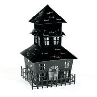 HALLOWEEN HOUSE CENTERPIECE (1)