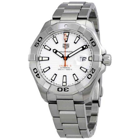 Tag Heuer Aquaracer White Dial Automatic Men's Watch