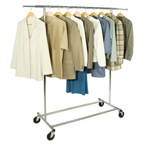 Richards Homewares Folding Single Tier Garment Rack by Richards Homewares