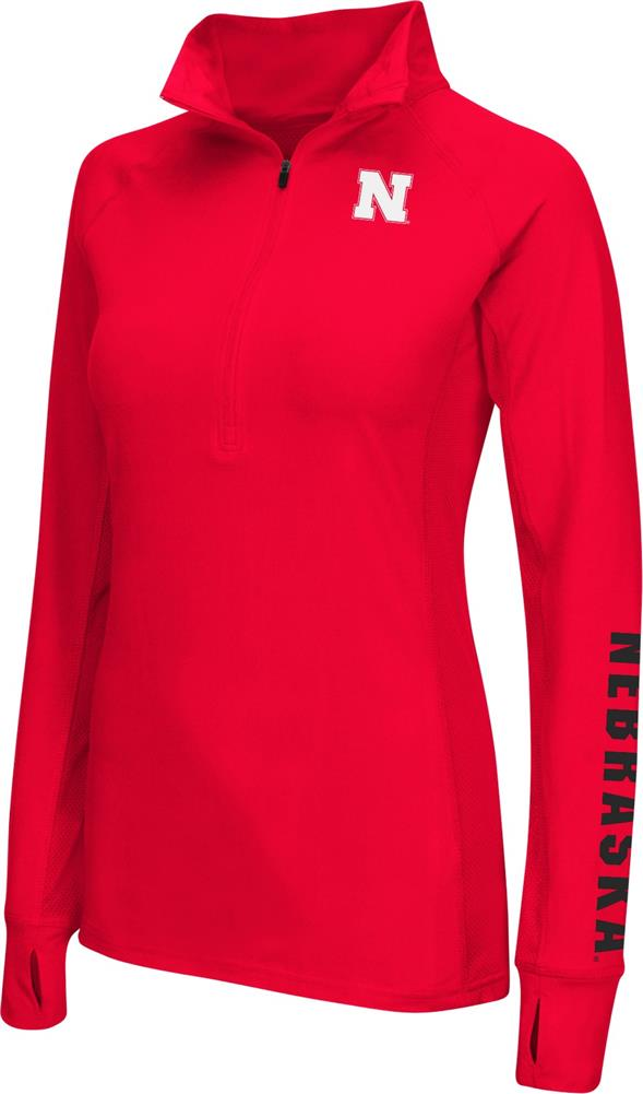 Nebraska Cornhuskers Ladies Personal Best Running Jacket by Colosseum