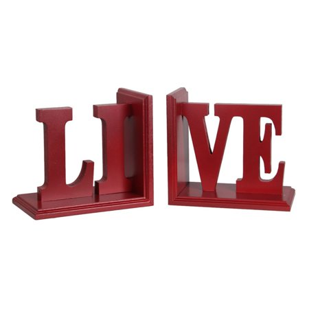 Privilege International Live Wood Bookend - Set of 2