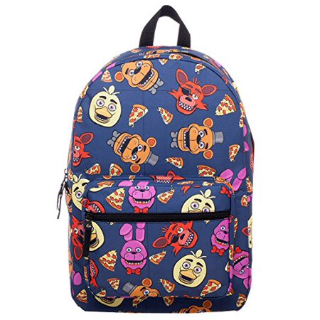 Five Nights At Freddy Large School Backpack FNAF All Over Prints (Ray Ban Large Size)