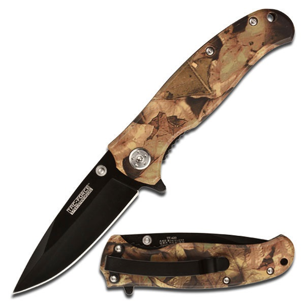 Tac Force TF-420JC Assisted Opening Folding Knife 4in Closed