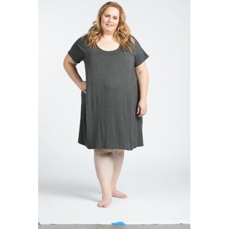 Maternity Nursing/ Breastfeeding Nightgown Dress Plus Size