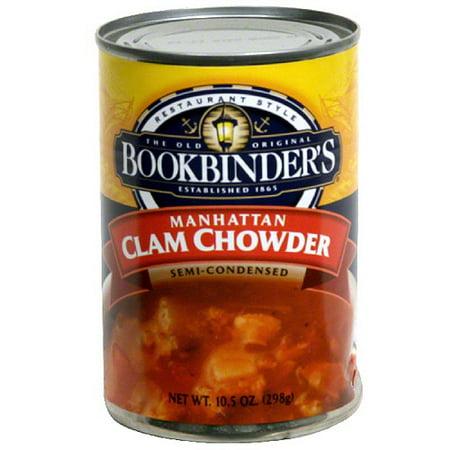 ... ***Bookbinder's Manhattan Clam Chowder Soup, 10.5 oz (Pack of 12