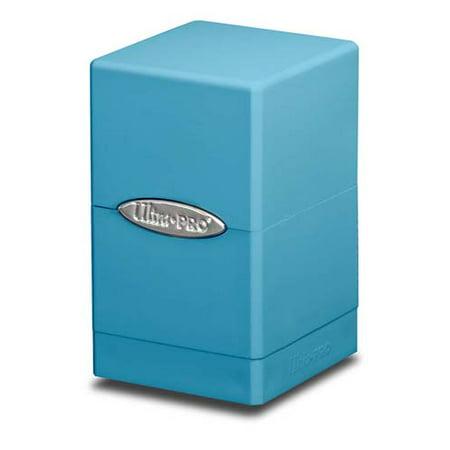 Ultra PRO Light Blue Satin Tower Deck Boxes