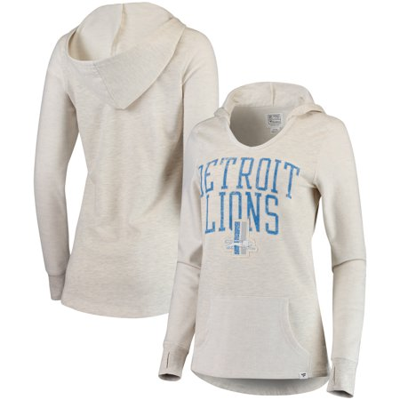 pretty nice ff7db 44eb5 Detroit Lions NFL Pro Line by Fanatics Branded Women's True Classics  Pullover Hoodie - Cream