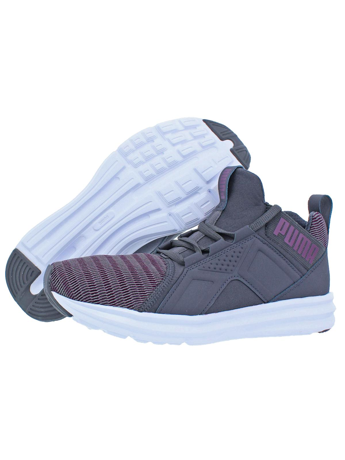 ed5a9d55045 PUMA - Puma Womens Enzo Colorshift Soft Foam Trainer High Top Sneakers -  Walmart.com